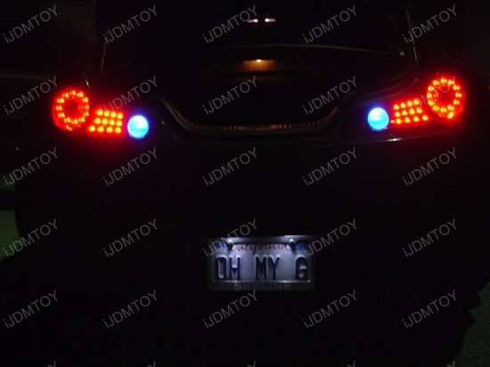 Infiniti - G35 - white - led - backup - reverse - lights - 2
